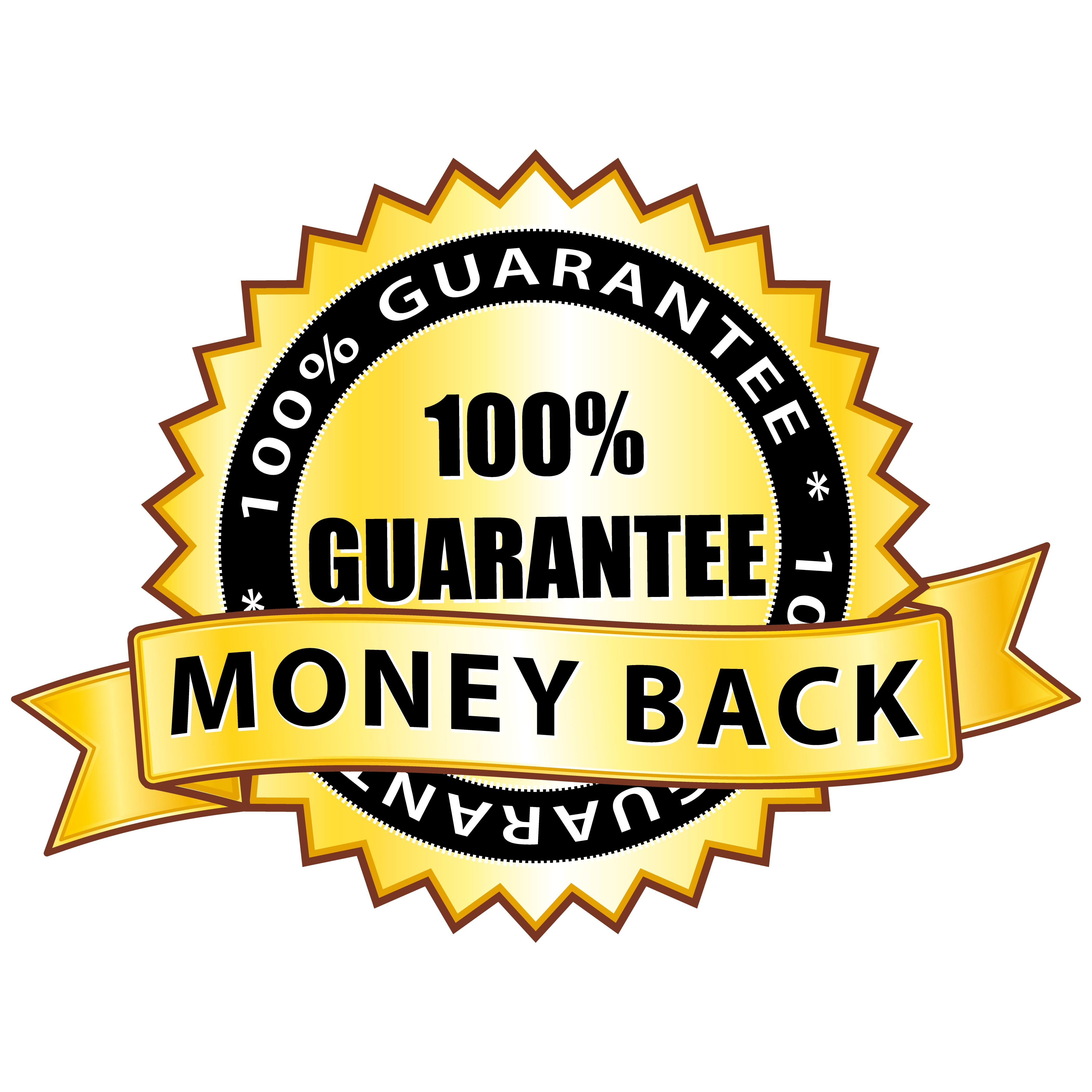 100% Guarantee Money Back