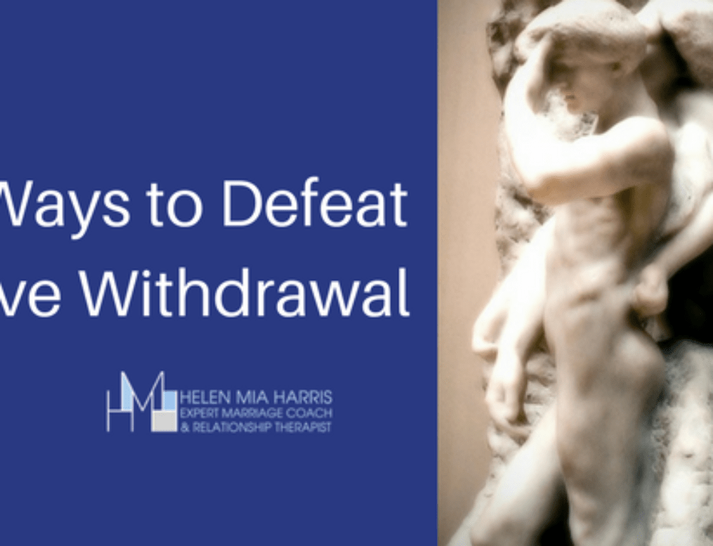 3 Ways to Defeat Love Withdrawal